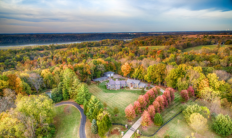 real estate aerial photography louisville